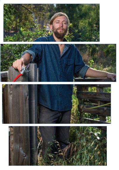 Connor Jones, East End Eden permaculture farm.