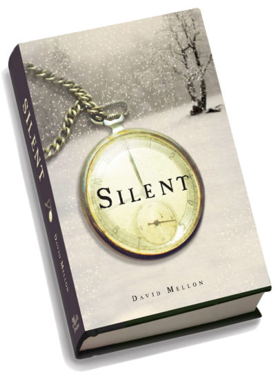 "David Mellon's ""Silent."" The author will appear at the Art Center for a reading on Oct. 29th."
