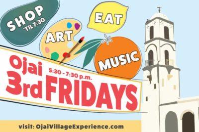 third friday's ojai downtown