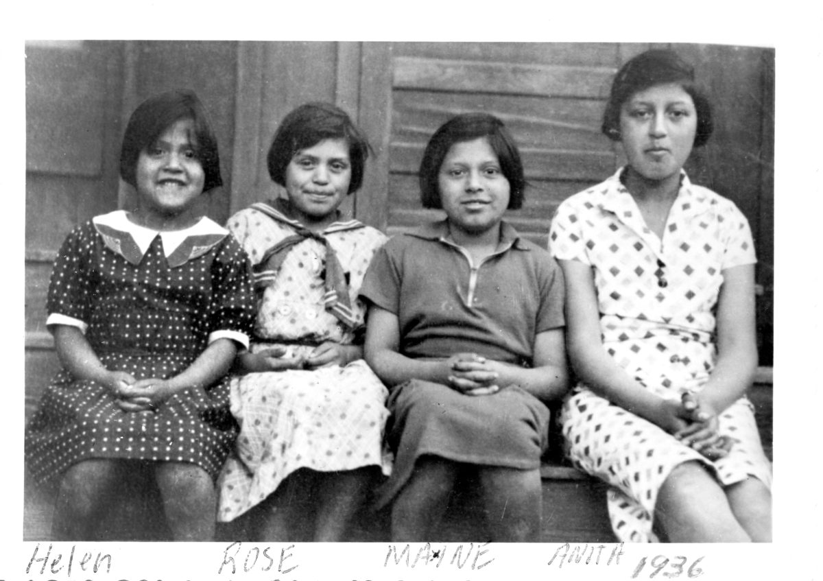 The Chavez sisters in 1936